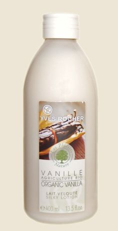Yves Rocher ORGANIC VANILLA Silky Body Lotion France