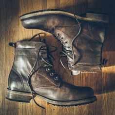 Booting up for fall and winter with these Levi�s boots from JackThreads for only $80.