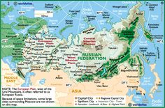 map of russian states - Google Search
