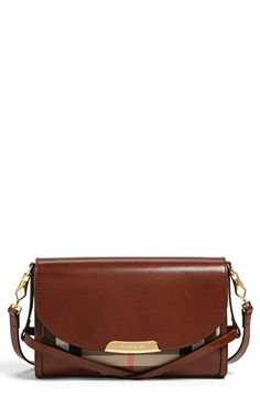 Burberry 'House Check' Crossbody Bag available at #Nordstrom PERFECTION
