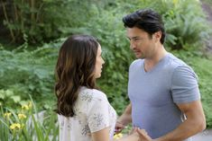 """Check out the photo gallery from the Hallmark Channel Original Movie """"Over the Moon in Love"""" starring Jessica Lowndes and Wes Brown. Wes Brown, Jill Wagner, Jessica Lowndes, Kelly Rowland, Hallmark Channel, Red Velvet Cheesecake Cupcakes, Love On Ice, Ashley Williams, Luke Perry"""