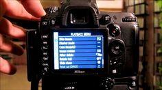 Nikon D7000 Tutorial: All Settings, Menus, Functions by Carlos Erban