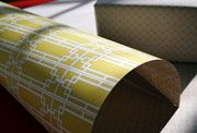 Sustainably printed (and double sided) gift wrap from Smock paper.