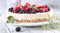 Kaura-juustokakku Just Eat It, Cheesecakes, Tiramisu, Baking, Ethnic Recipes, Desserts, Food, High School, Drinks