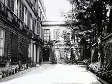 Natalie Barney's Paris home, 20 rue Jacob. Another rich American expat gone wild. One of the famous Women of the Left Bank.