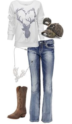 Country cute, maybe minus the hat though...
