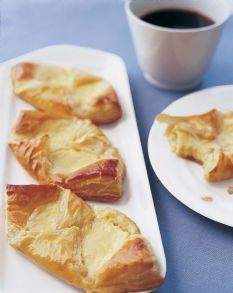 Barefoot Contessa - Recipes - Easy Cheese Danish I watched her make these on her t.v show, and they looked amazing!