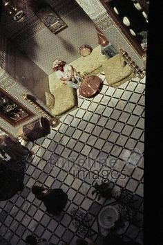 Palais de Fes, 1962 Czychowski/Timeline Images #1960 #60er #60s #Marokko #Morocco #Palast #Schloss #Prunk