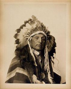 CHIEF RED SHIRT (Ogle Sha), Oglala Lakota, 1899, by F.A. Rinehart.