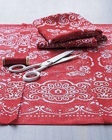 creative uses with a bandana