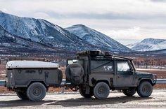 Land Rover Defender 90 & 110 owner and admirer Defender 90, Land Rover Defender, Land Rovers, Van Life, Offroad, Trailers, 4x4, Cave, Monster Trucks