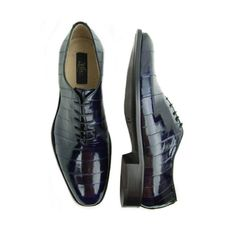 Eel Lace Up In Navy | Lace up eel skin has a very distinctive look and this unique exotic has been offered through the years by any number of high end footwear manufacturers #mensfashion #leathershoes #leather #stylish #shoe #shoelover #shoelovers #SilkRoadEXPO