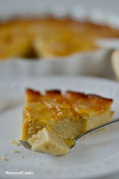 Manzana&Canela: Tarta de manzana rápida Apple Recipes, Sweet Recipes, Healthy Recipes, Healthy Food, Sweet Pie, Sweet Tarts, Mumbai Street Food, Dairy Free Diet, Pan Dulce