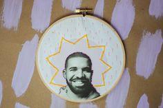 DIY Drake Embroidery