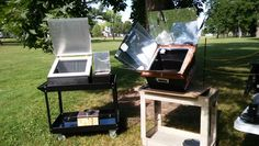 Solar Oven cooking demonstration at The Westgate Summer Jam 2016
