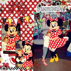 - Fill 'Er Up Templates  - Mick's Girl  - Just Plain Fun  - Build-a-Banner  - Date Flags  - Mouse Stitches  - Delicate Mickey Sprinkles  all by Britt-ish Designs  - Fonts are DJB Nicole by Darcy Baldwin, Pea Bethany's Doodles, and Rough Typewriter