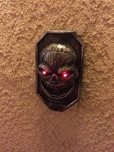 The doorbell. Halloween Decorations, Halloween Art