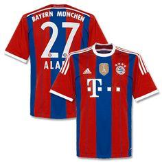 Adidas Bayern Munich Home Alaba Shirt 2014 2015 inc Bayern Munich Home Alaba Shirt 2014 2015 inc World Club Champions Patch http://www.comparestoreprices.co.uk/football-shirts/adidas-bayern-munich-home-alaba-shirt-2014-2015-inc.asp