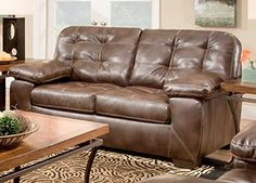Chelsea Home Furniture Kenie Loveseat Loggins Espresso -- Continue to the product at the image link.