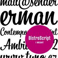 """Bistro Script"" from Tomas Brousil"