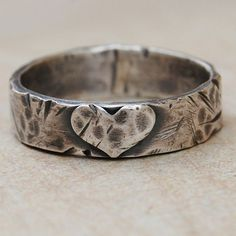 Love Weathers Any Storm  One Sterling Silver by lovestrucksoul, $42.00  I want this for my pinky!!