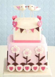 The Love Bird Cake Class   Pretty Witty Cakes