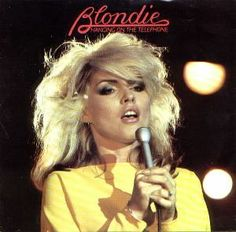 "I love Blondie! It's such an amazing rock band, and Debbie Harry, the lead singer, is my idol. The song ""Hangin' on the Telephone"" is so great!"