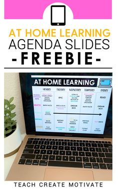 My FREE home learning agenda slides were created for Power Point and Google Slides. The slides can be used to communicate at home learning activities! This resource will not only make your life easier, but will also help keep you organized! The schedule is perfect for using with your elementary students.