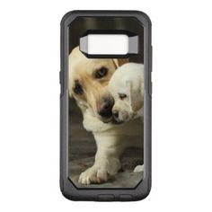 #Yellow Labrador Retriever OtterBox Commuter Samsung Galaxy S8 Case - #labrador #retriever #puppy #labradors #dog #dogs #pet #pets