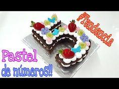 Pastel en Tendencia 2018 Número de Chocolate - YouTube