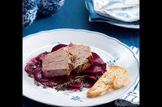 Paštika z kachních jater s řepou Steak, French Toast, Breakfast, Food, Meal, Eten, Steaks, Meals, Morning Breakfast
