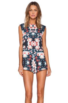 690ed64e9c2 Shop for The Fifth Label Moon Safari Playsuit in Floral Print at REVOLVE.  Free day shipping and returns