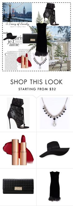 """""""retro fashion"""" by aliceandhomer ❤ liked on Polyvore featuring Dsquared2 and San Diego Hat Co."""