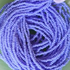periwinkle seed beads