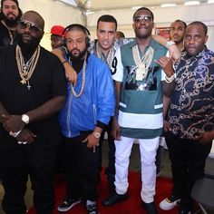 Meek Mill in Hood By Air at The 2014 BET Awards