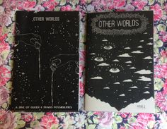 Get the best of both worlds! Other Worlds Issues 1 & 2 for a discounted combo pack price. Other Worlds is a zine of queer visions of the future. These visions are utopian and dystopian, exploring mystic realities, dream worlds, and future worlds that look something like our own. Other Worlds Zine investigates possibility using comics, drawings, and text by queer artists. Issue 2 of Other Worlds features black and white artwork by Angélica De Jesús, Anabel Kai Yin Khoo, Chanelle A. Bergeron…