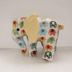 Elephant Nursery toy elephant plush new baby by ButtonOwlBoutique, £18.00