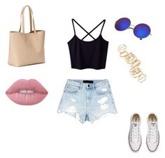 """Sans titre #164"" by melissandre-2000 on Polyvore featuring mode, Alexander Wang, Converse, BP., Old Navy et Lime Crime"