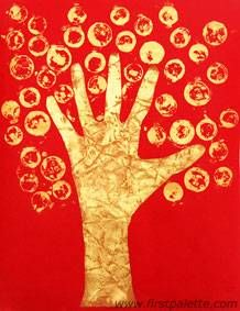 Chinese Coin Tree craft