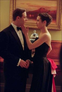 The dress from this scene will always be one of my favorites! she is so classy and elegant