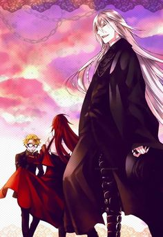 Undertaker,Grell and Ronald! They're amazing but... where is Will?? ;-;