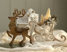 Crafting ideas from Sizzix UK: Ho..ho..ho... Santa is coming to town.....
