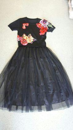 Платье летнее с фатиновой юбкой 440 грн оптом