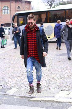O melhor do street style masculino na Pitti Uomo, em Florença - GQ | Estilo