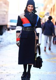 Liz Cabral, Celine Coat Fashion