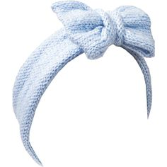 Beauxoxo Glitter Baby Blue Knitted Bow Headband (€21) ❤ liked on Polyvore featuring accessories, hair accessories, bows, hair, blue, headband hair accessories, blue hair accessories, head wrap hair accessories, wool headband and blue headband