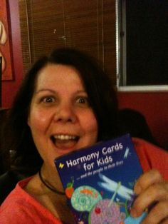 Bringing back memories.  The Harmony Cards for Kids arrived on the 21st December 2011.  Whoo hooo!