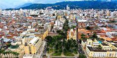 Colombia - Panoramica de Bucaramanga, Santander.