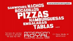 American Royal: reparto a domicilio de comida rapida mostoles, pizza casera a domicilio
