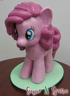 Pinkie Pie My Little Pony Cake by Sugar N Spires